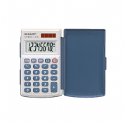 Sharp EL-243S Handheld Calculator with Hard Cover